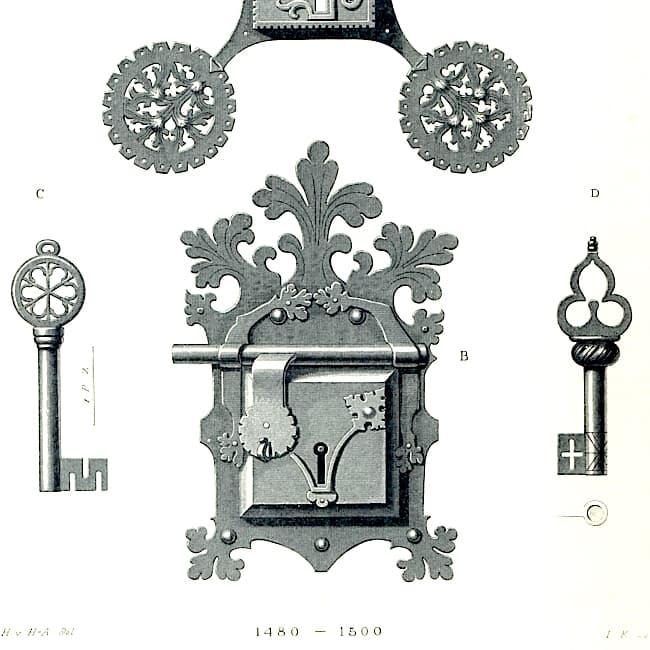 Ferronnerie, serrurerie, métal