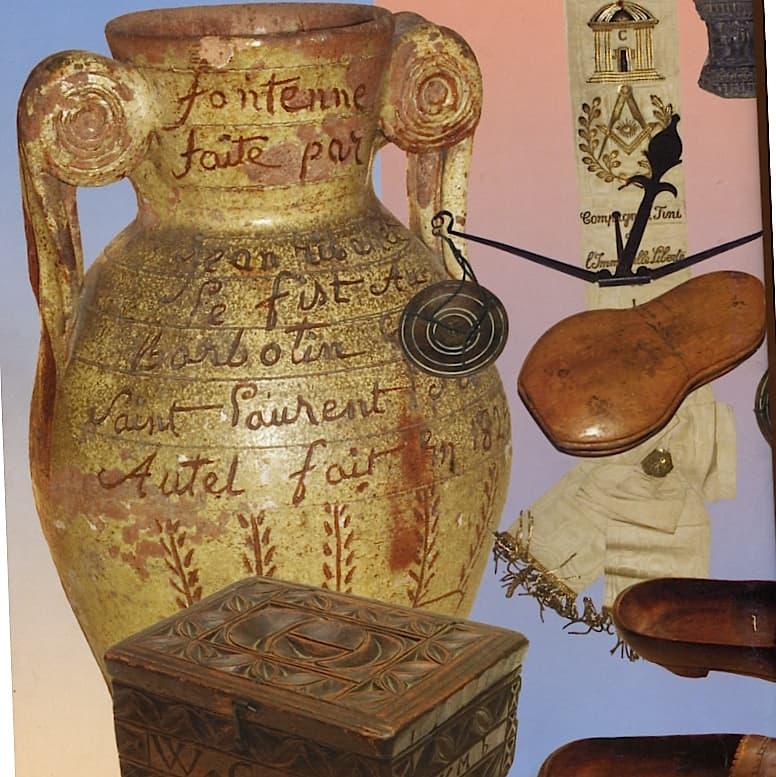 Généralités, art populaire, céramique, objet